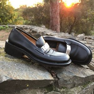 Dolce & Gabbana Shoes - Dolce Gabbana D&G Black Chunky 90's Loafers